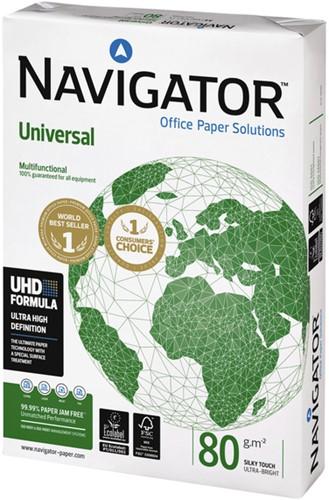 KOPIEERPAPIER NAVIGATOR UNIVERSAL A4 80GR WIT 500 Vel