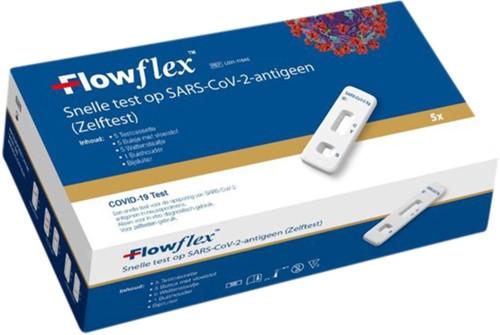 Zelftest Flowflex Corona 5st 5 Stuk