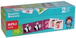 Apli Kids duo box met 1 Domino spel en 1 Memory spel