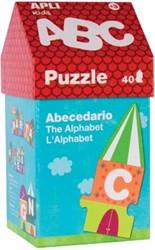 Apli Kids puzzel huisje met 40 stukken, ABC