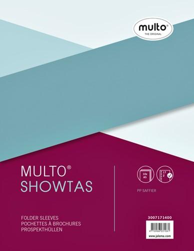SHOWTAS MULTO A5 17R PP 0.08MM NERF 10 Stuk