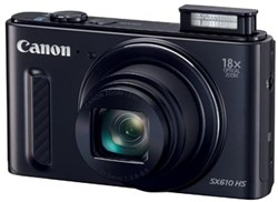 Canon fototoestel PowerShot SX610 HS, zwart