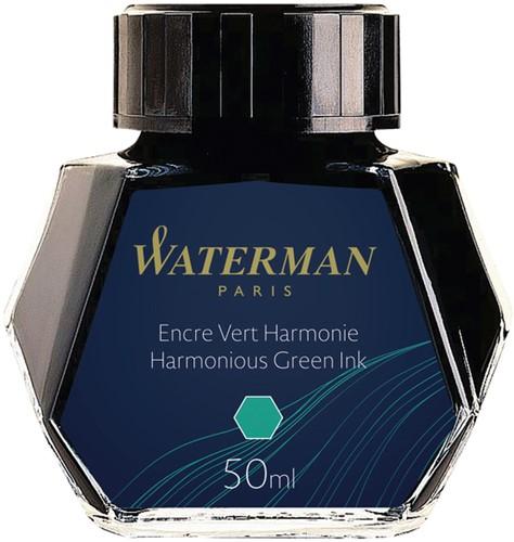 VULPENINKT WATERMAN 50ML HARMONIEUS GROEN 1 Stuk