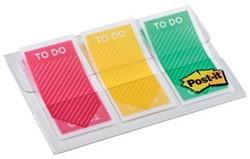 """Post-it Index """" To Do"""", ft 23,8 x 43,1, pak van 3 x 20 tabs"""