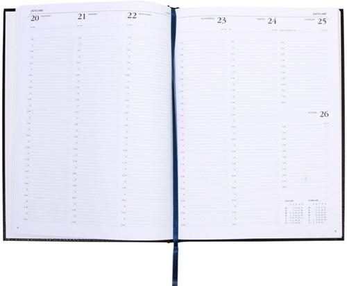 AGENDA 2022 RYAM WEEKLY 7DAG/2PAG ZWART 1 Stuk