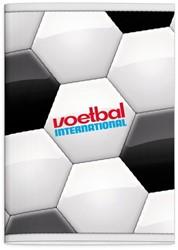 SCHRIFT VOETBAL INTERNATIONAL A4 RUIT 1 STUK