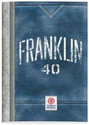 SCHRIFT FRANKLIN & MARSHALL BOYS A4 LIJN 1 STUK