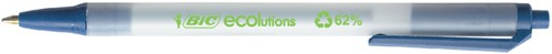 BALPEN BIC ECOLUTIONS CLIC STIC BLAUW 1 Stuk
