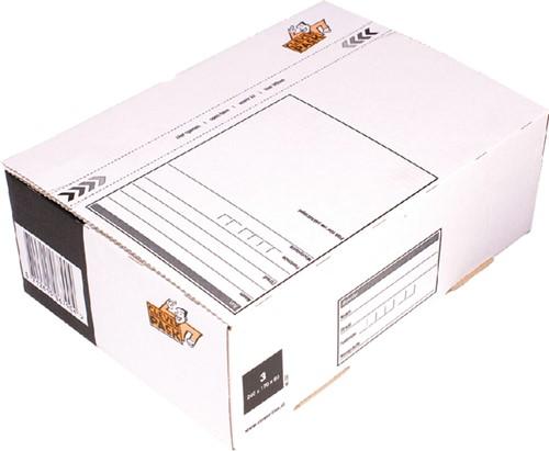 POSTPAKKETBOX 3 CLEVERPACK 202 240X170X80MM 25 Stuk