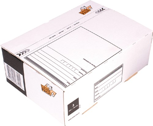 POSTPAKKETBOX 3 CLEVERPACK 240X170X80MM 1 Stuk
