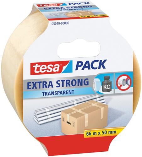 VERPAKKINGSTAPE TESA 5049 50MMX66M EXTRA STERK TR 1 Stuk