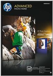 FOTOPAPIER HP Q8692A 10CMX15CM 250GR GLANS 100 VEL