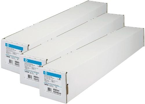 INKJETPAPIER HP C6810AE BRIGHT WHITE 914MMX91M 90GR 1 Rol
