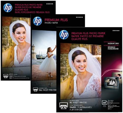 FOTOPAPIER HP CR677A 10CMX15CM 300GR PR PLUS GLANS 25 Vel