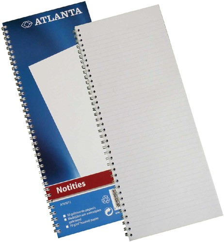 REGISTER SMALFOLIO A1030-12 SPIRAAL 50BLAD BLAUW 1 Stuk