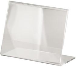TAFELSTANDAARD SIGEL A7 SCHUIN GLASHELDER 1 STUK