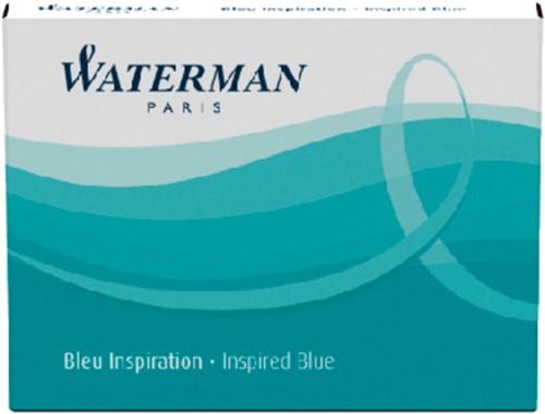 INKTPATROON WATERMAN INTERNATIONAAL ZUIDZEEBLAUW 6 Stuk