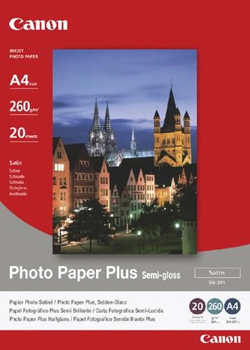 FOTOPAPIER CANON SG-201 A4 260GR SEMI GLANS 20 Vel