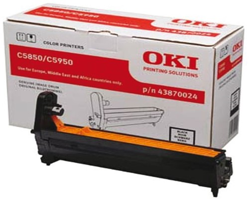 DRUM OKI 43870024 C5850 C5950 ZWART 1 STUK