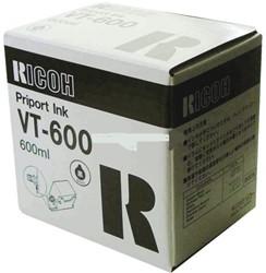 TONER RICOH VT-600 ZWART 5 STUK