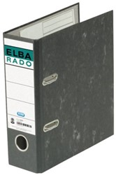 ORDNER ELBA RADO A5 75MM KARTON ZWART 1 STUK