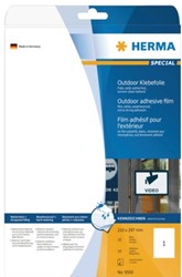 ETIKET HERMA 9500 210X297MM 10ST 10 VEL