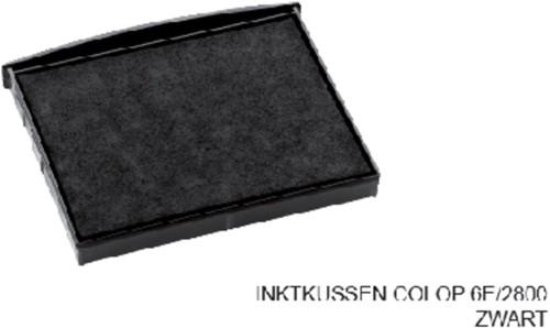 INKTKUSSEN COLOP 6E/2800 ZWART 1 Stuk
