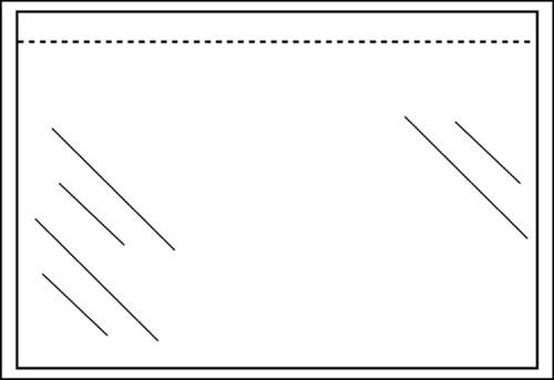 PAKLIJSTENVELOP CLEVERPACK ZK ONBEDRUKT DIN-C5 TR 100 Stuk