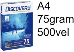 KOPIEERPAPIER DISCOVERY A4 75GR WIT - EFFICIENCY BOX 2500VEL
