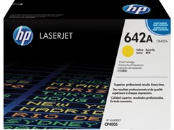 TONERCARTRIDGE HP 642A CB402A 7.5K GEEL 1 STUK