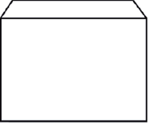 ENVELOP QUANTORE BANK C6 114X162 80GR WIT 50 STUK