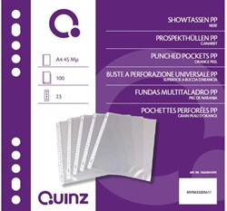 SHOWTAS QUINZ A4 23R PP 0.045 NERF 100 STUK