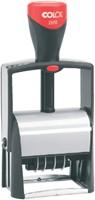 WOORD-DATUMSTEMPEL COLOP S2660 CLASSIC BON 36X56MM 1 STUK-1