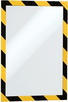 DURAFRAME SECURITY DURABLE A4 ZELFKL GEEL/ZWART 2 STUK-2