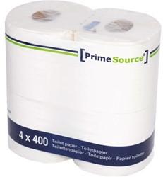 TOILETPAPIER PRIMESOURCE TISSUE 2LAAGS 400 VEL 40 ROL