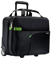 LAPTOPTAS TROLLEY LEITZ SMART TRAVELLER 15.6 ZWART 1 STUK