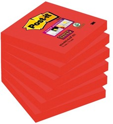 MEMOBLOK 3M POST-IT 654-SSSF 76X76MM SAFFRAAN 90 VEL