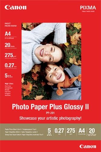 FOTOPAPIER CANON PP-201 A4 275GR GLANS 20 Vel