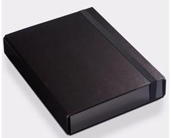 PRESENTATIEBOX KLAPR A4 50MM ZWART 1 STUK