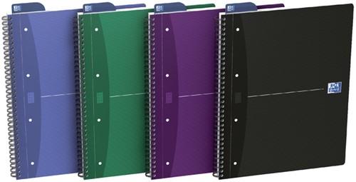 COLLEGEBLOK OXFORD OFFICE DSP 4R+ A4 RUIT 5MM 1 Stuk