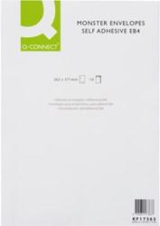 ENVELOP Q-CONNECT MONSTER 262X371X38 130GR ZK WIT 10 STUK