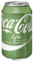 FRISDRANK COCA COLA LIFE 0.33L BLIKJE 33 CL-1