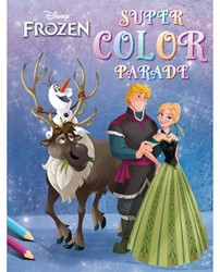 KLEURBOEK DELTAS FROZEN SUPER COLOR PARADE 1 STUK