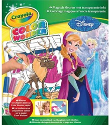 KLEUR BOX CRAYOLA COLOR WONDER FROZEN 1 STUK