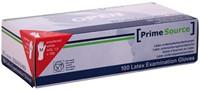 HANDSCHOEN PRIMESOURCE LATEX MAAT M WIT 100 STUK-1