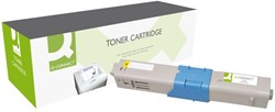 TONERCARTRIDGE Q-CONNECT OKI 44469722 5K GEEL 1 STUK
