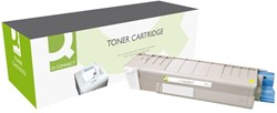 TONERCARTRIDGE Q-CONNECT OKI 43381905 2K GEEL 1 STUK