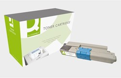 TONERCARTRIDGE Q-CONNECT OKI 44469804 5K HC ZWART 1 STUK