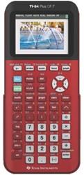 Texas grafische rekenmachine TI-84 Plus CE-T, rood 1 STUK