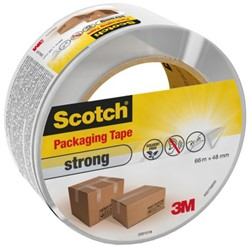 VERPAKKINGSTAPE 3M SCOTCH 48MMX66M STRONG TRANSPARANT 1 STUK